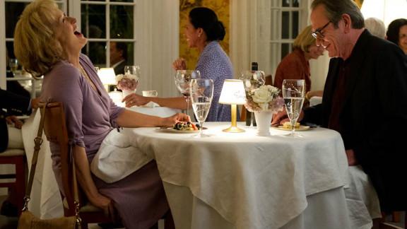 """Meryl Streep stars as Kay Soames and Tommy Lee Jones stars as Arnold Soames in """"Hope Springs."""""""