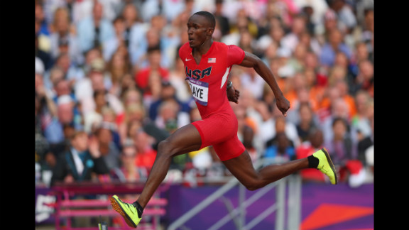 Will Claye of the United States competes during the men