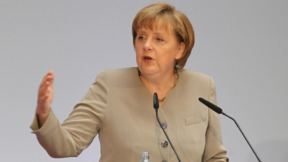 German Chancellor Angela Merkel has served the country since 2005 and is a powerful champion of the European Union.