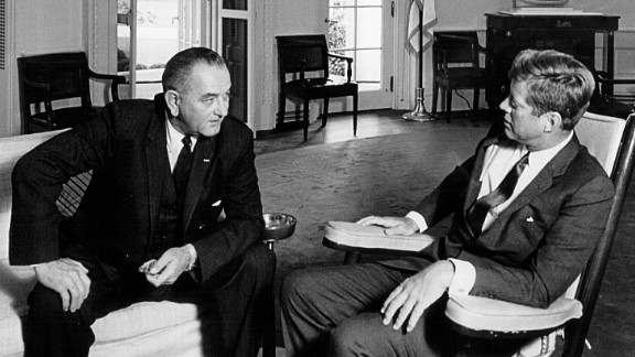Texas native Lyndon Johnson