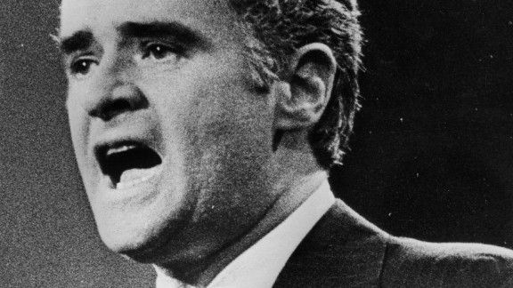 Thomas Eagleton was a respected senator from Missouri when he was chosen to be Democratic nominee George McGovern