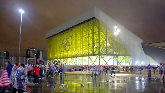 It was time for me to head home too. I bade the Olympic Park farewell, knowing it