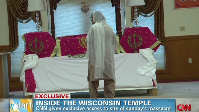 Inside the Wisconsin temple