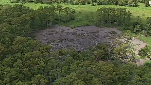 Sinkhole tested for radioactivity