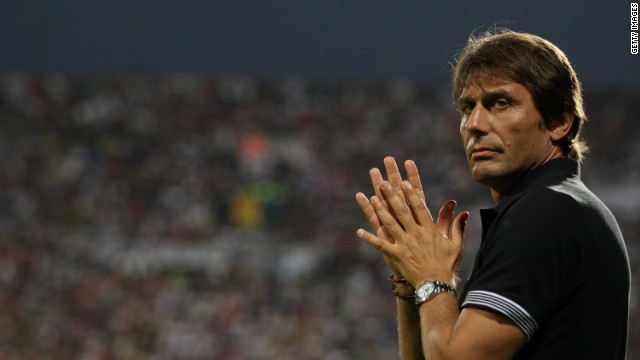 Juventus Antonio Conte was originally banned for 10 months but can now return in December.