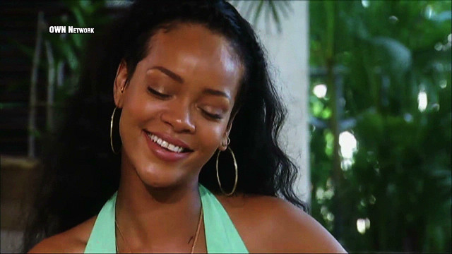 2012: Rihanna confesses to Oprah