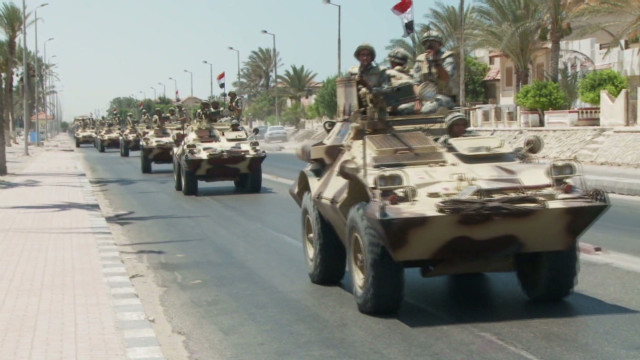 Egypt's push to stop militants