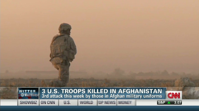 Afghan allies kill Special Ops troops
