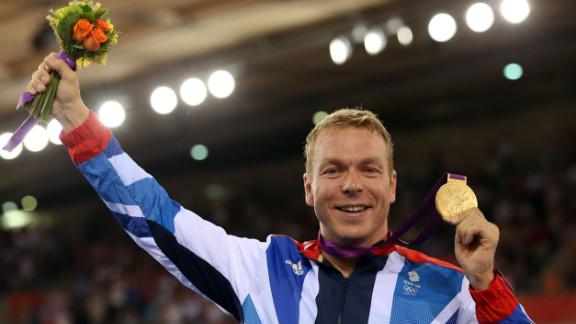 Chris Hoy became Britain