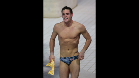 David Boudia reacts to winning gold in the men