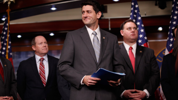 Ryan holds a news conference in December 2011 in Washington to introduce a package of 10 legislative reforms designed to revamp the budget process.
