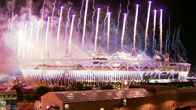 Olympics close with fireworks display