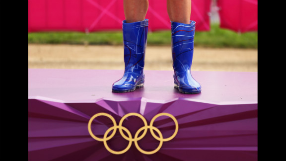 All athletes were instructed to bring a pair of wellies.