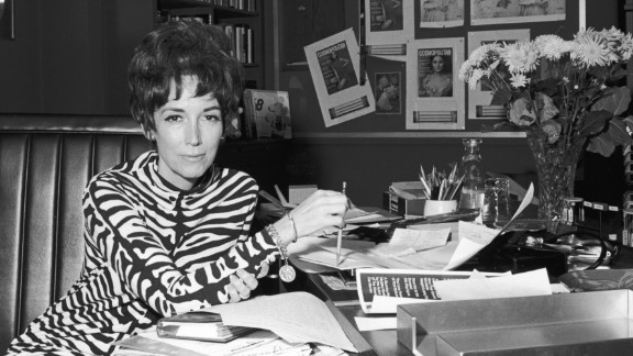 "Helen Gurley Brown, former editor-in-chief of Cosmopolitan magazine and author of ""Sex and the Single Girl,"" died on August 13 at age 90."