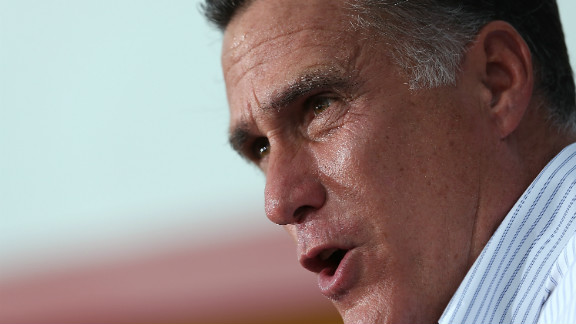 Mitt Romney speaks during a campaign rally at Palacio De Los Jugos Monday in Miami, Florida.