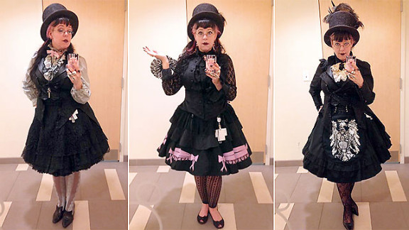 """Professional technical writer Jillian Venters is known as the """"Goth at the office."""" Her style is her calling card."""