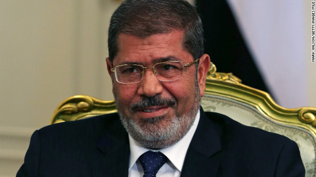 Syrian state TV is insulting Egypt's president, Mohamed Morsy, and other regional leaders in scathing editorials.