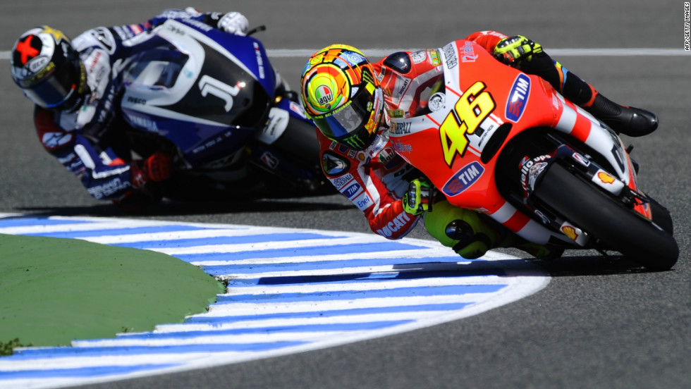Seven-time world champion Rossi has struggled since joining Ducati in 2011, having taken with him his No. 46 -- the number with which his bike has always been adorned to commemorate the first win by his father, who was also a motorbike racer.