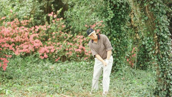 """In 1964, golfer Jack Nicklaus reportedly pulled himself out of the performance doledrums after a dream in which his right hand was positioned differently. Trialling his """"dream grip"""" allowed Nicklaus to hit 65, and then 68 at the Cleveland Open."""