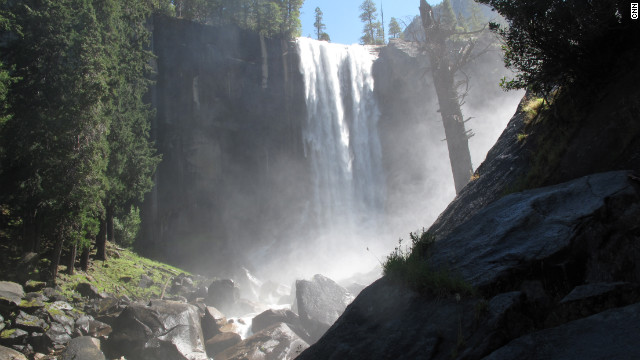 Vernal Fall in Yosemite National Park.