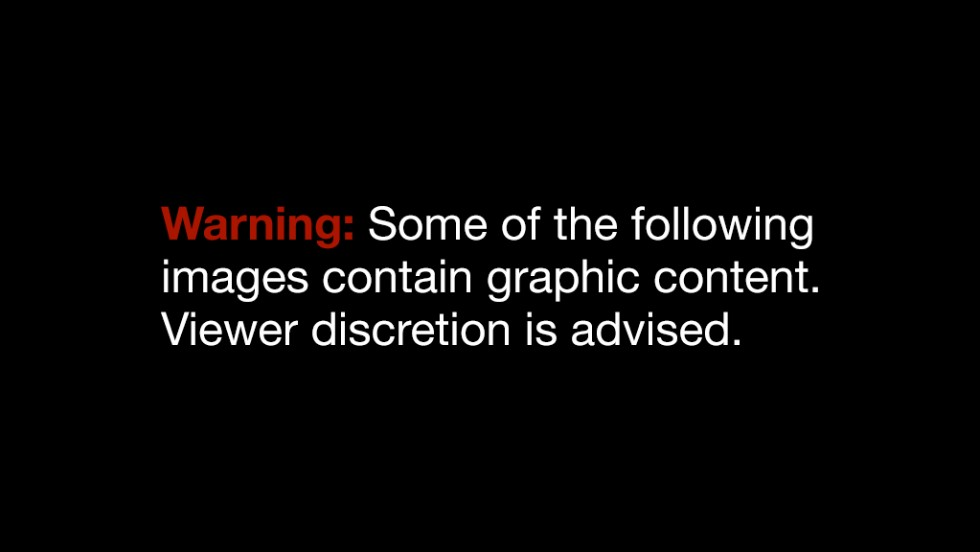 disclaimer graphic warning