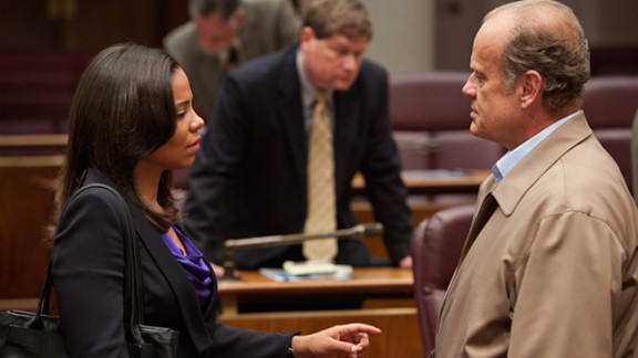 """Sanaa Lathan and Kelsey Grammer star in the new season of """"Boss."""""""