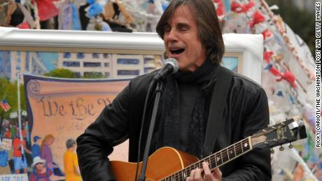 Jackson Browne is recovering from coronavirus. (Photo by Ricky Carioti/The Washington Post via Getty Images)