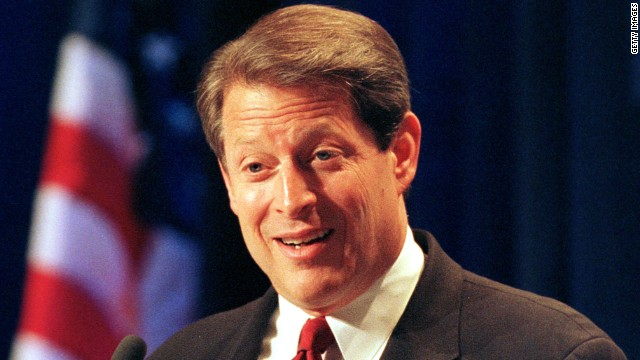 Katz had great fun with Al Gore's stiff public image, and Gore used the lines to mock himself.