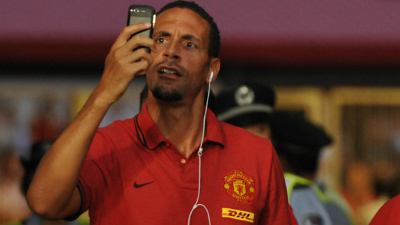 Rio Ferdinand was another player who opted not to wear the Kick It Out T-shirt. The Manchester United defender is reportedly involved in talks to set up a separate black footballers