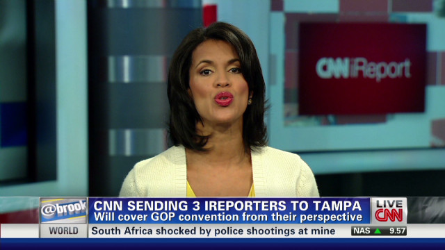 CNN sending three iReporters to Tampa