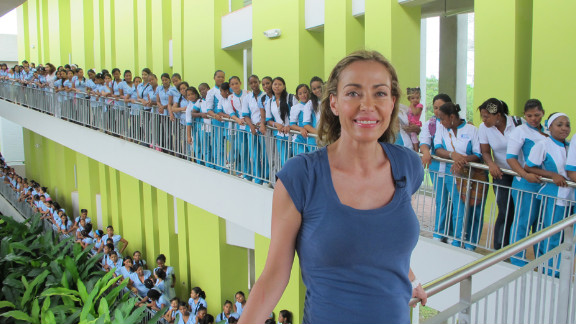 "Catalina Escobar began ""Juan Felipe Gomez Escobar Foundation,"" a foundation to improve children's health."