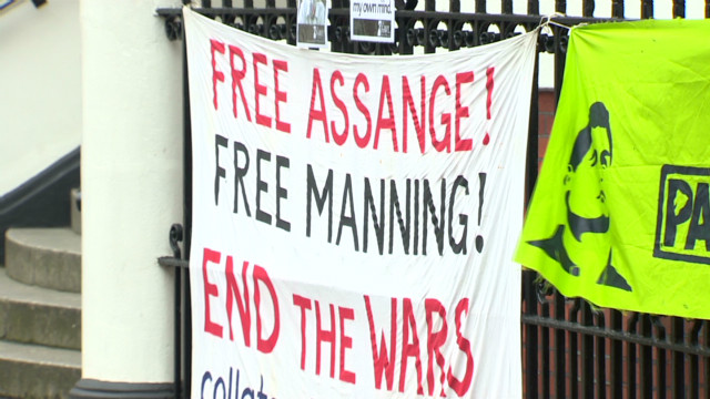 Is it possible for Assange to escape?