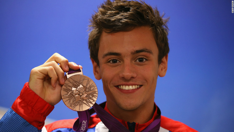 Daley has become a celebrity ever since bursting onto the international stage as a 14-year-old at the Beijing Olympics in 2008. He won bronze in London last year.