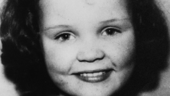 Lesley Ann Downey, pictured aged 10. Lesley Ann was killed by Brady and Hindley after they abducted her on Boxing Day in 1964.