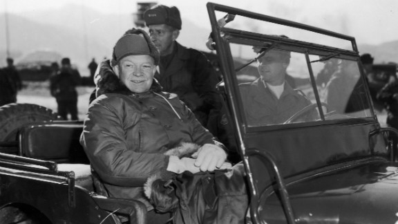 """Dwight Eisenhower, the 34th president, switched to a health-conscious <a href=""""http://www.health.harvard.edu/newsletter_article/Heart_Beat_On_the_links_to_recovery"""" target=""""_blank"""" target=""""_blank"""">low-fat diet</a> after suffering a heart attack in 1955."""