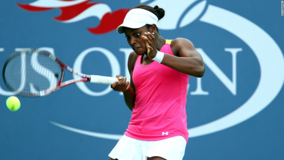 Sloane Stephens has had a great year on the WTA Tour, reaching two semifinals and making the fourth round of the French Open. Her success is built around an aggressive game which has led to comparisons with Serena Williams.