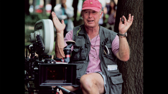 "British-born director Scott on the set of his film ""Man on Fire"" in Mexico City in 2003."