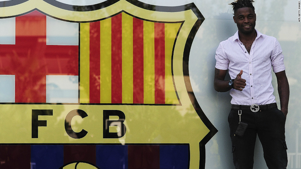 <strong>Arsenal to Barcelona</strong>For the second year in a row, a key Arsenal player has been lured to Spain by Barcelona. Last August it was Cesc Fabregas, this time it's Cameroon midfielder Alex Song. The 25-year-old moved for $23.7 million on a five-year contract, with a release clause of $100 million.