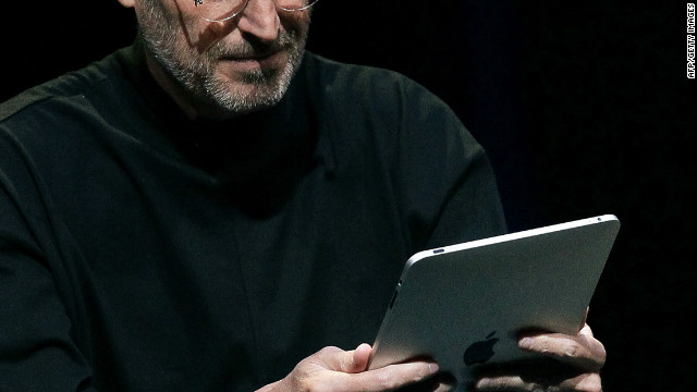 2012: Clown ends up with Jobs' iPad