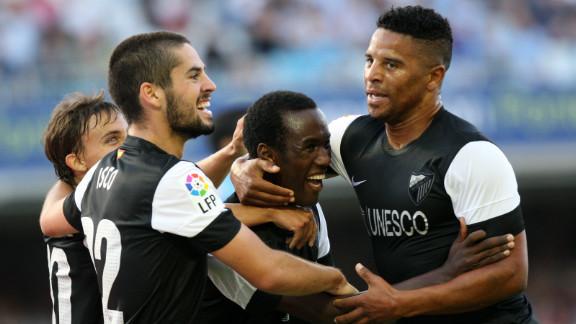 Malaga earned a 1-0 win over newly-promoted Celta Vigo on the Spanish season