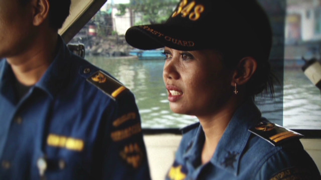 Female captain fights armed robberies