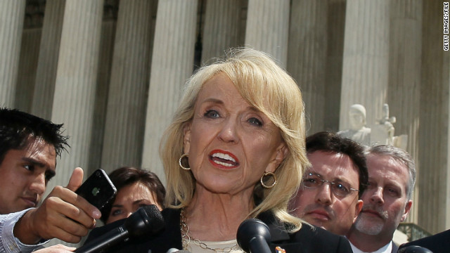 Arizona's Brewer denies deportation relief