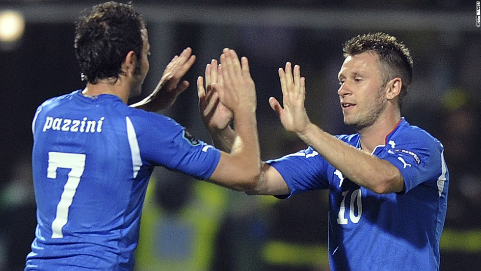 <strong>AC Milan to Internazionale</strong>Antonio Cassano has left AC Milan to join city rivals Inter, while fellow Italy striker Giampaolo Pazzini went in the other direction. Milan had to pay a reported $8.7 million extra for Pazzini, who at 28 is two years younger than his former Sampdoria teammate. Cassano, meanwhile, recovered from heart surgery to help Italy reach the final of Euro 2012.