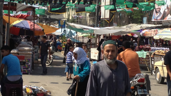 Rafah market appears to be buzzing despite efforts from Egypt and Hamas to close the smuggling tunnels that are key to Gaza