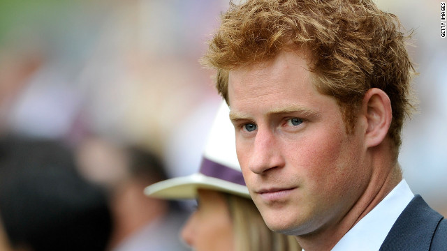 Who took nude photos of Prince Harry?
