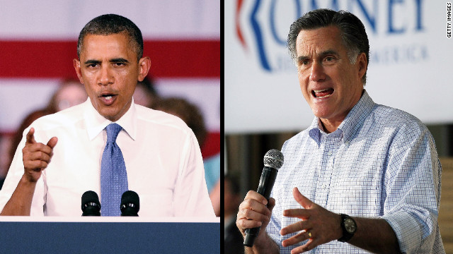 Obama, Romney spar over Libya response