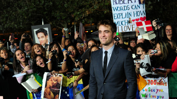 """Author Stephenie Meyer was asleep when she conceived the """"fantastically beautiful, sparkly"""" vampire played by Robert Pattinson in what would become the """"Twilight"""" saga, and says chapter 13 of her first book is """"essentially a transcript of my dream."""""""