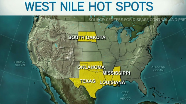 Worst-ever West Nile outbreak in US