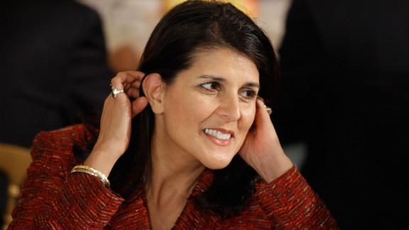 Gov. Nikki Haley of South Carolina is of Indian-American descent.