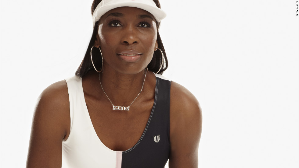 Tennis star Venus Williams has relaunched her clothing label EleVen ahead of the U.S. Open. The 32-year-old took time out of her playing career to graduate from fashion school.